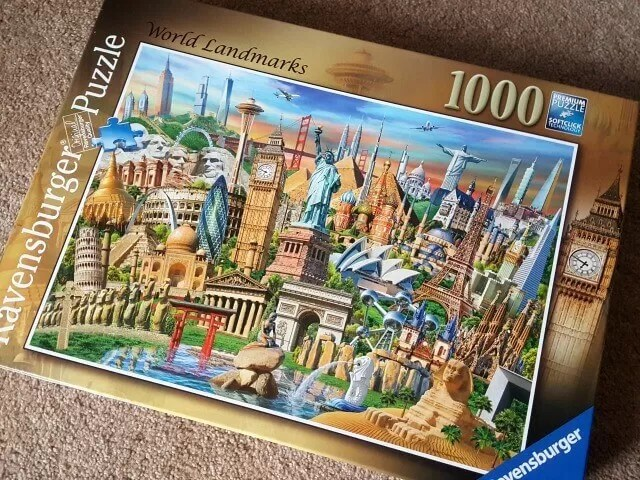 ravensburger world landmarks puzzle