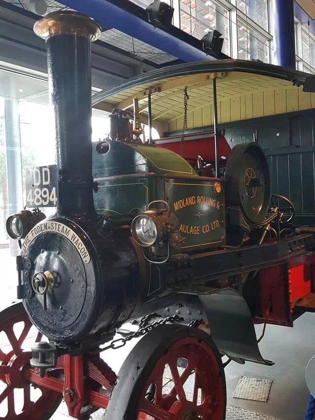 steam engine at think tank