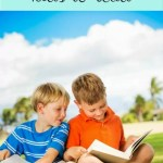 Top reading tips to encourage children to read