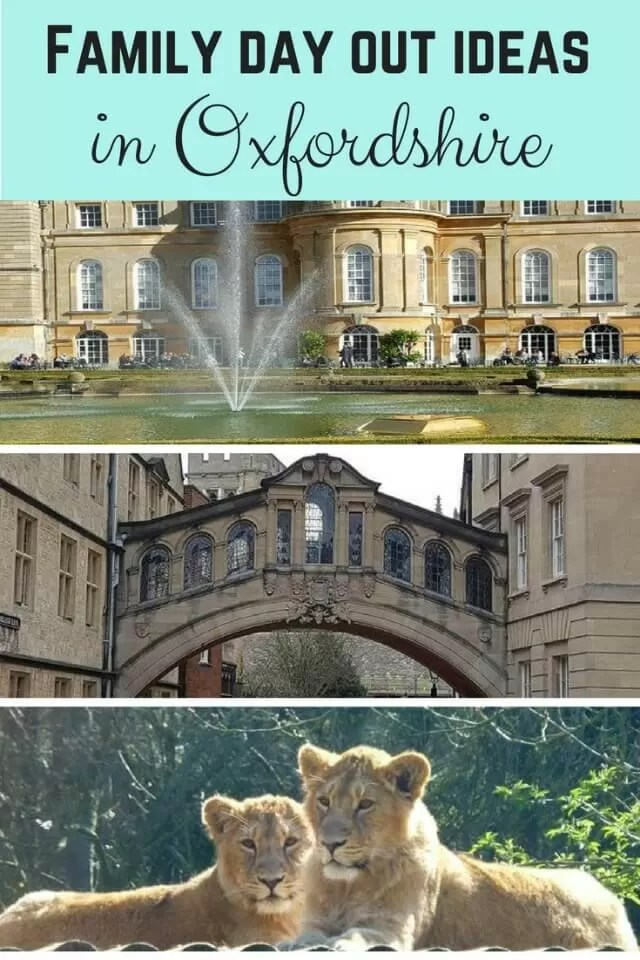 days out oxfordshire