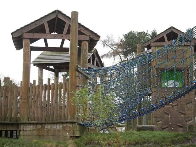 adventure playground at zsl whipsnade