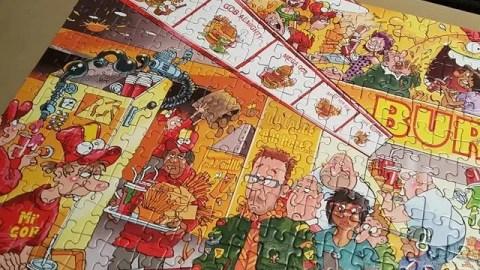 close up wasgij destiny 18 puzzle