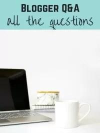 blogger tag QAs