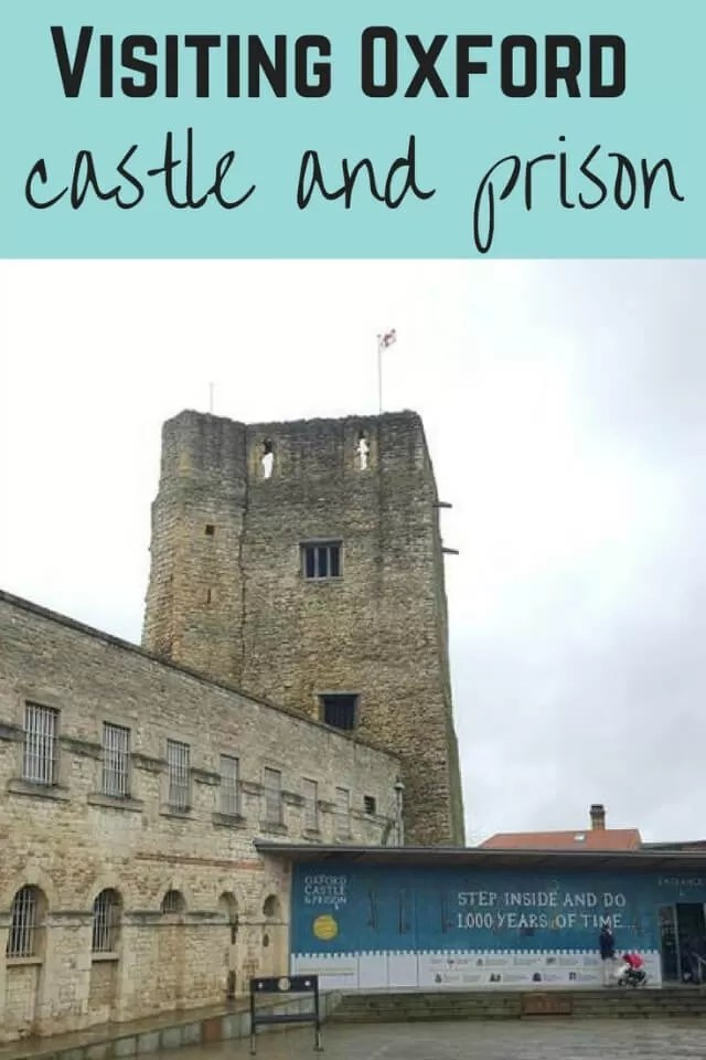 Oxford castle and prison - Bubbablue and me