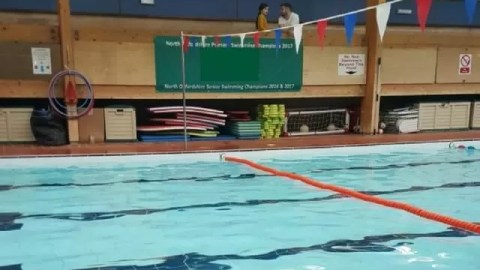 Swimming progress – moving up to stage 4 swimming