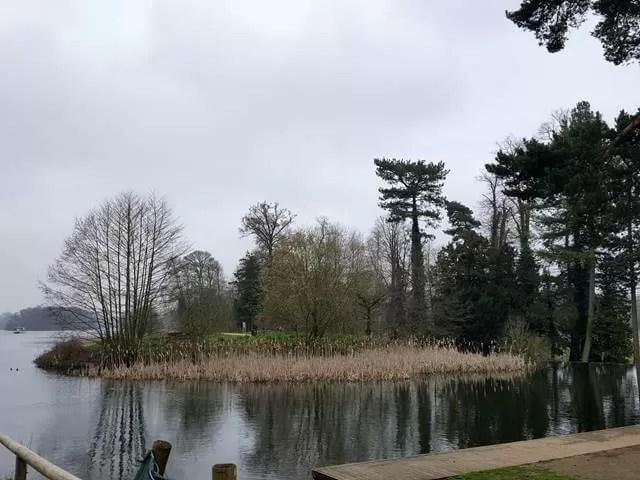 Trentham gardens lake