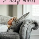 Ways to reduce stress and sleep better