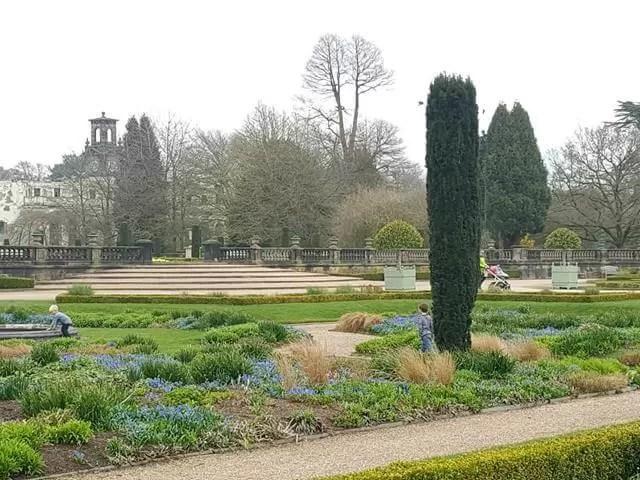 formal gardens trentham