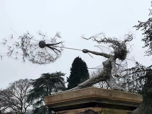 make a wish fairy sculpture