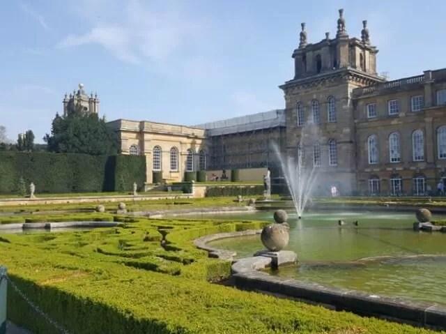 water terrace gardens