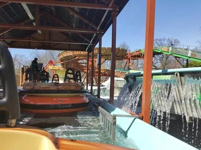 white water rapids ride