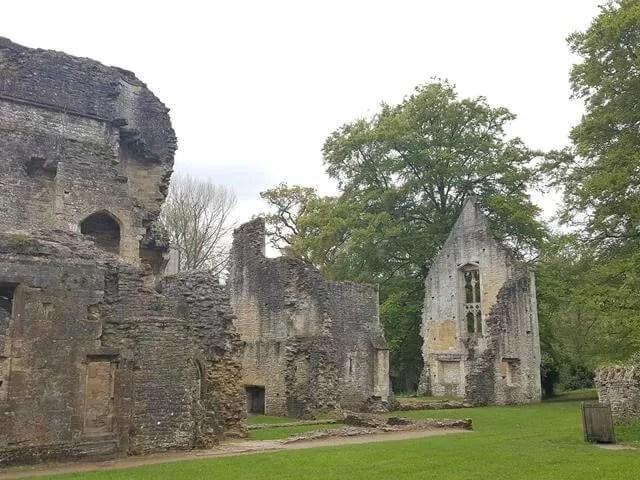 minster lovell hall stone walls