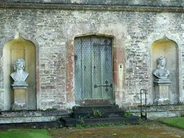 side of Rousham House