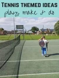 tennis themed activities