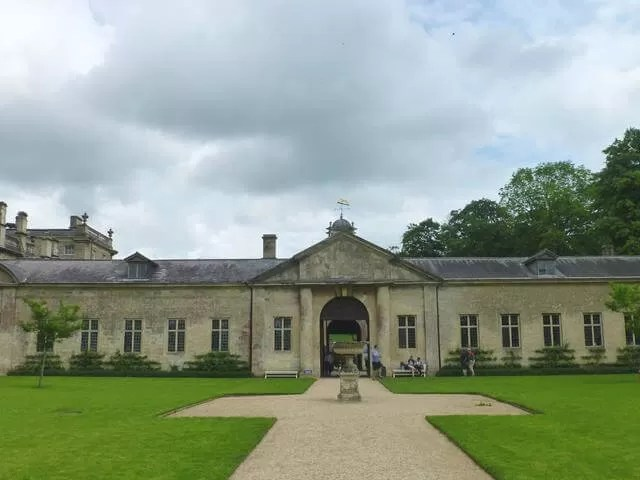 back of dyrham park