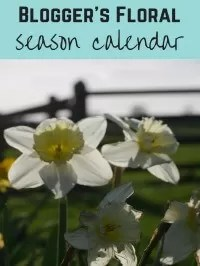 floral seasonal calendar
