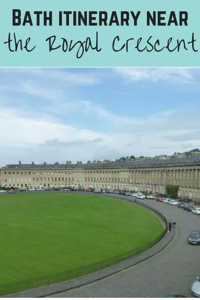 royal crescent bath itinerary - Bubbablue and me