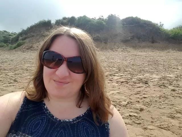 selfite at berrow beach