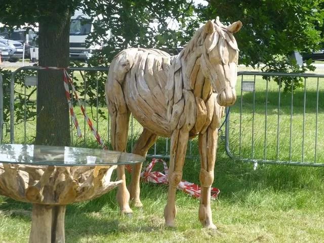 wooden decorative festival
