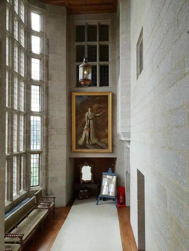corridor at castle drogo