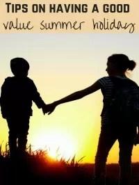 value summer holiday