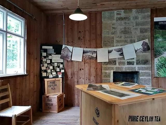tea house at castle drogo