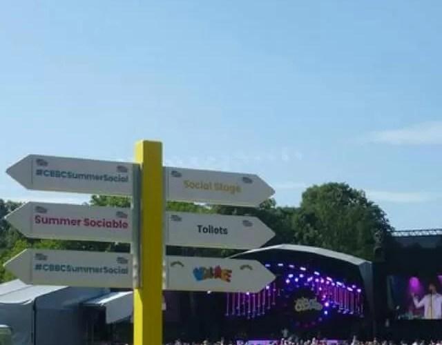 A children's festival of fun at CBBC Summer Social