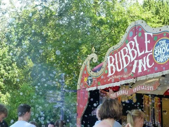 bubble stall