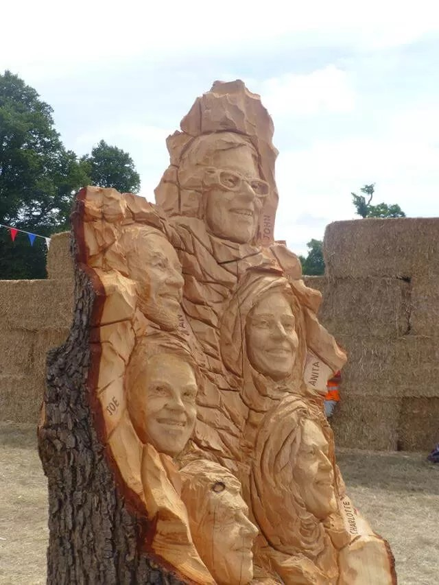 countryfile presenters in wood carving