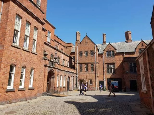 croxteth hall courtyard