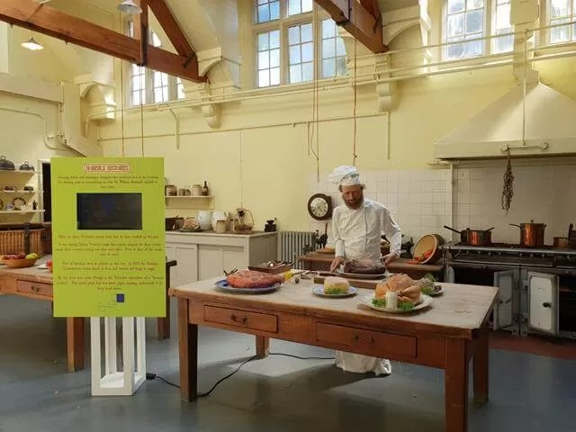 horrible histories kitchen at croxteth hall