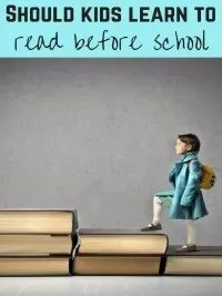 reading before school