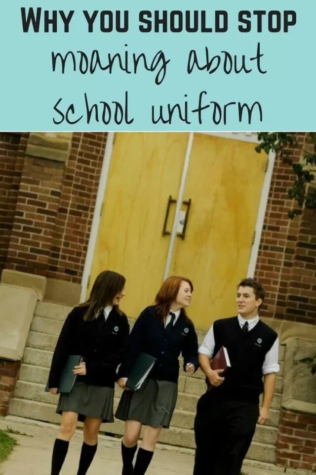 why you should stop moaning about school uniform - Bubbablue and me