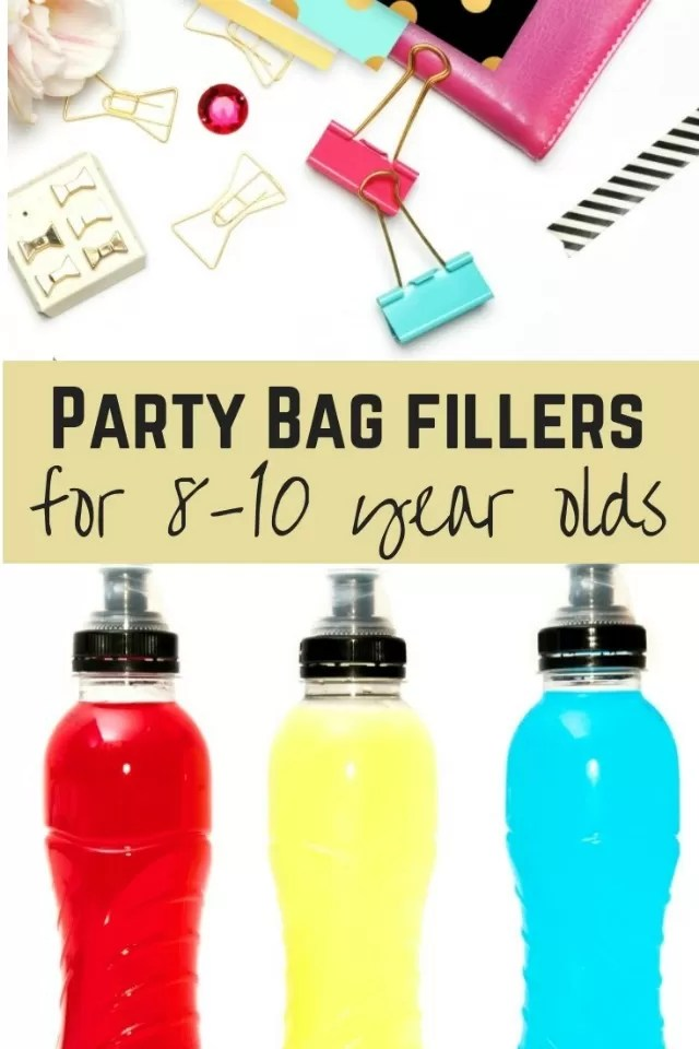 Great Party Bag Fillers For 8 To 10 Year Olds