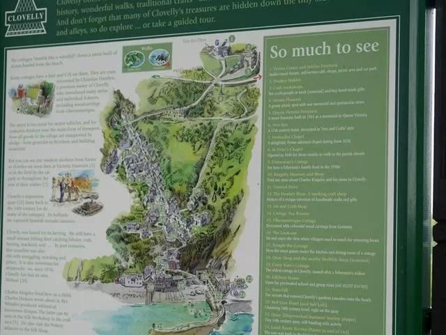 clovelly map