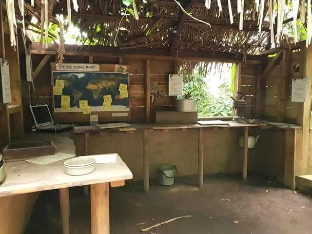 researchers hut