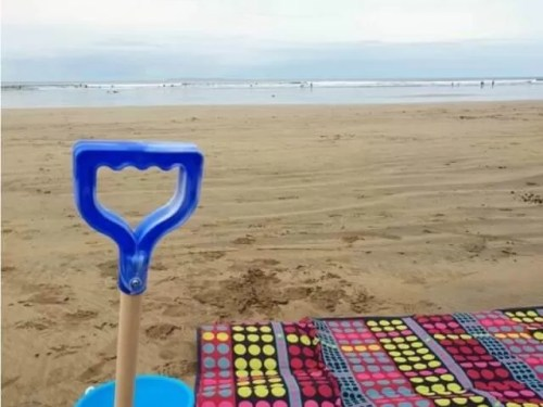 take kids on holiday alone - Bubbablue and me