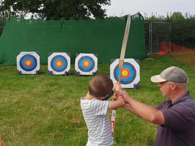 trying ou archery