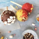 3 candy apples