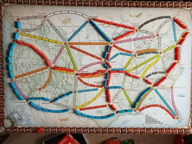 Ticket to Ride america board