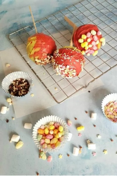autumn candy apples