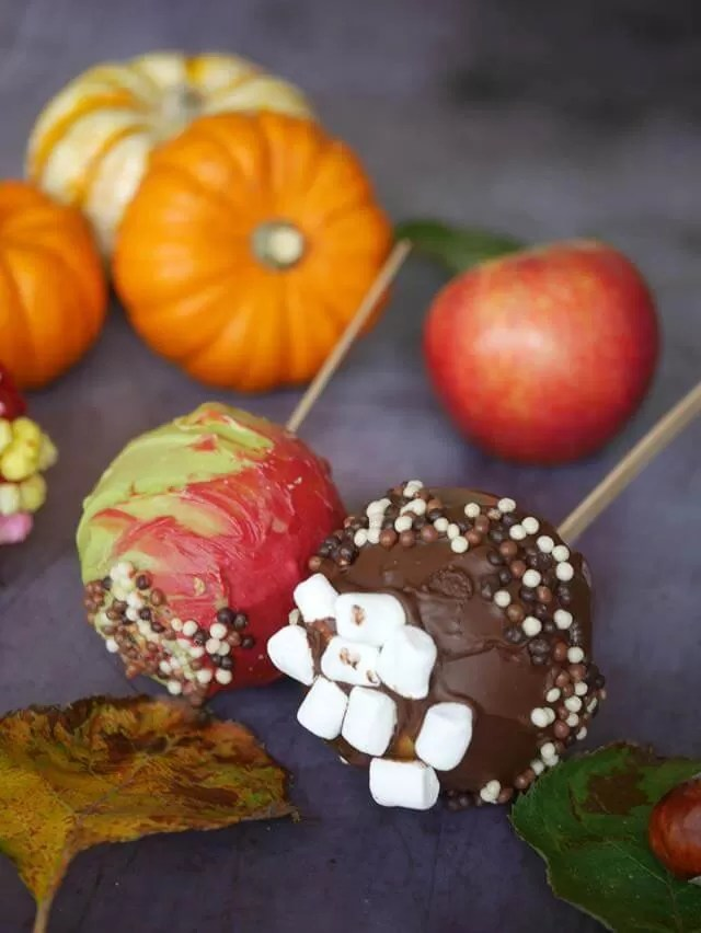 halloween candy apples