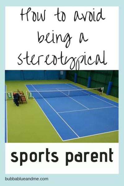not a typical tennis mum