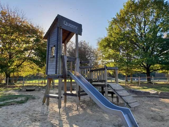 playground at Irchester country park
