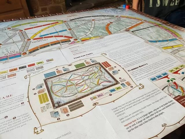 rules of ticket to ride