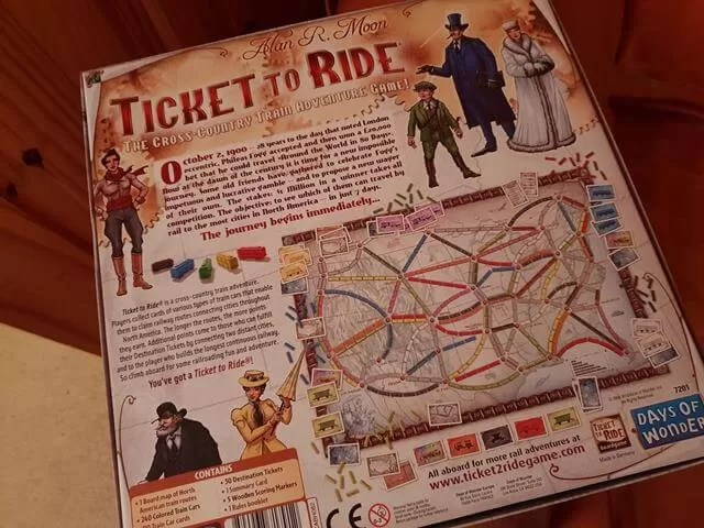 ticket to ride game story