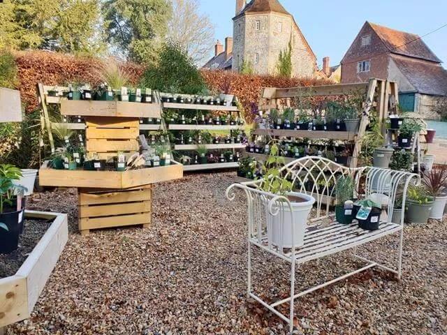 gardening stalls at greys court