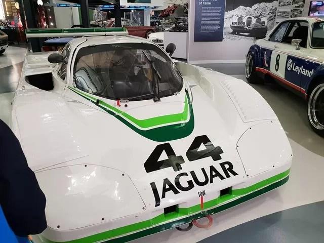 racing jaguar car