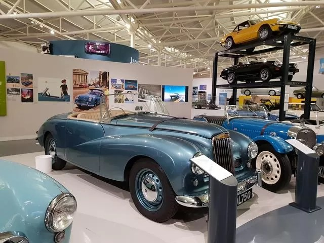 sporty blue cars