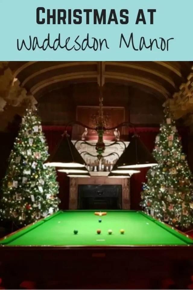 Christmas at Waddesdon manor - Bubbablue and me